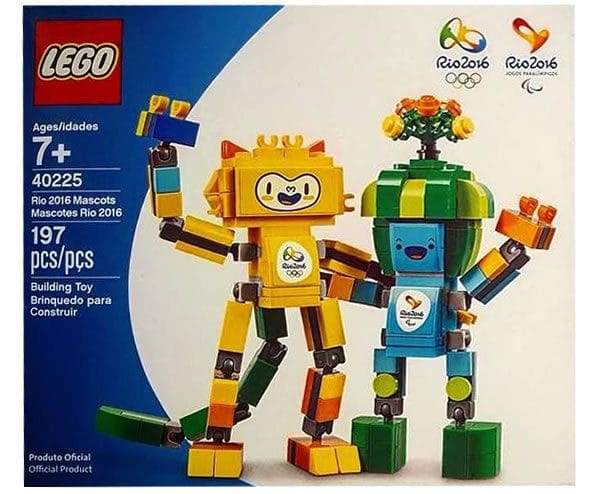 40225 Rio 2016 Mascots