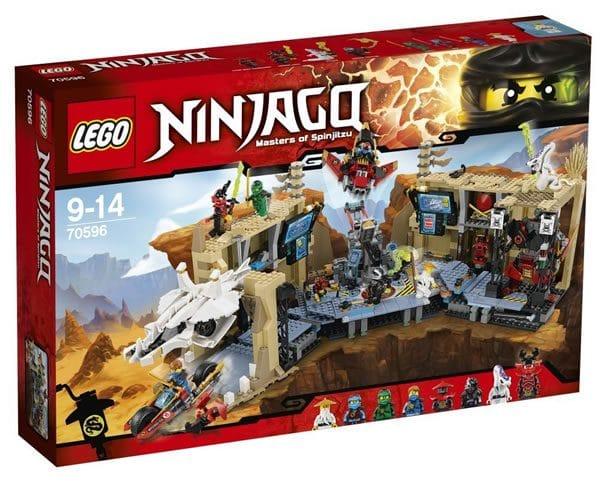 LEGO Ninjago 70596 Samurai X-Cave Chaos