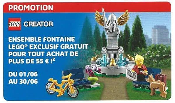 LEGO Store Calendar (FR) - Juin 2016
