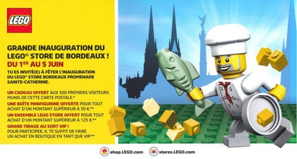 LEGO Store Bordeaux - Grand Opening 2016