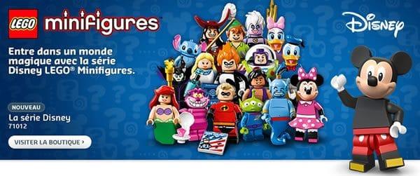 71012 LEGO Disney Collectible MInifigures Series