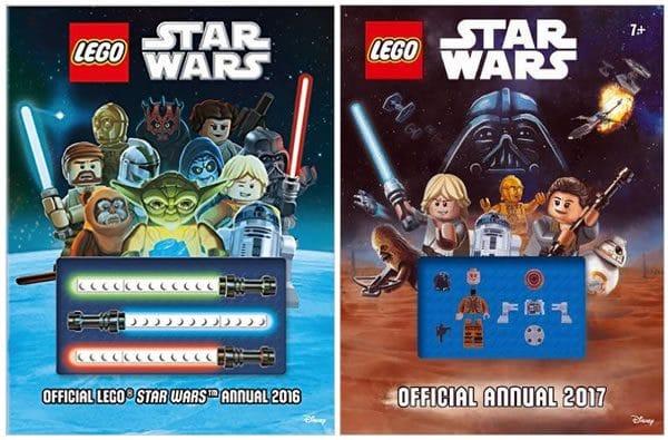 LEGO Star Wars Annual 2016 & 2017