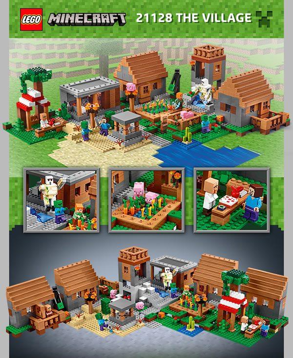 LEGO MInecraft 21128 The Village