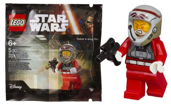 LEGO Star Wars - 5004408 Rebel A -Wing Pilot
