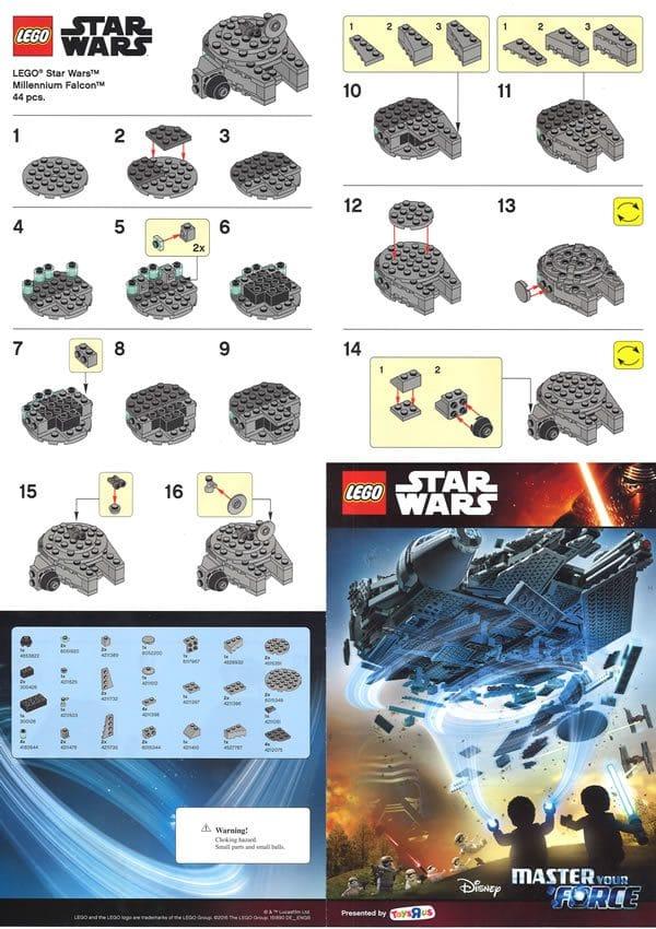 LEGO Star Wars Millennium Falcon @Toys R Us