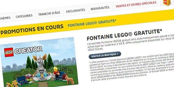 40221 LEGO Creator Fountain