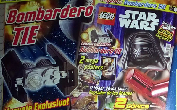 LEGO Star Wars Magazine - Issue #13 July 2016 - Tie Bomber