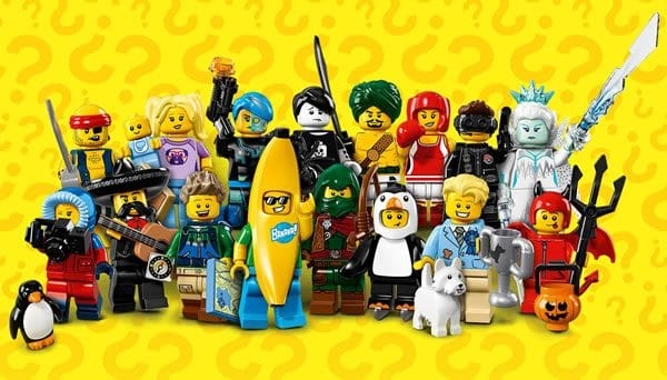 71013 Collectible Minifigures Series 16
