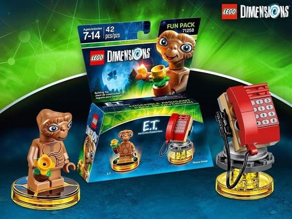 LEGO Dimensions : 71258 E.T. The Extraterrestrial Fun Pack