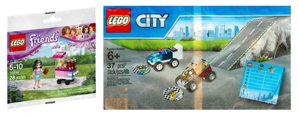 LEGO Friends 30396 Cupcake Stall & LEGO City 5004404 Police Chase
