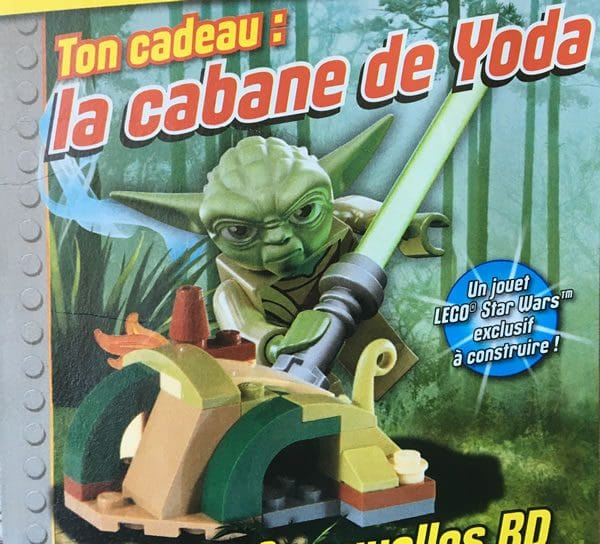 LEGO Star Wars Magazine N°14 (August 2016) : Yoda's Hut
