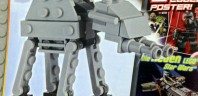 Magazine LEGO Star Wars : Un AT-AT avec le N°15