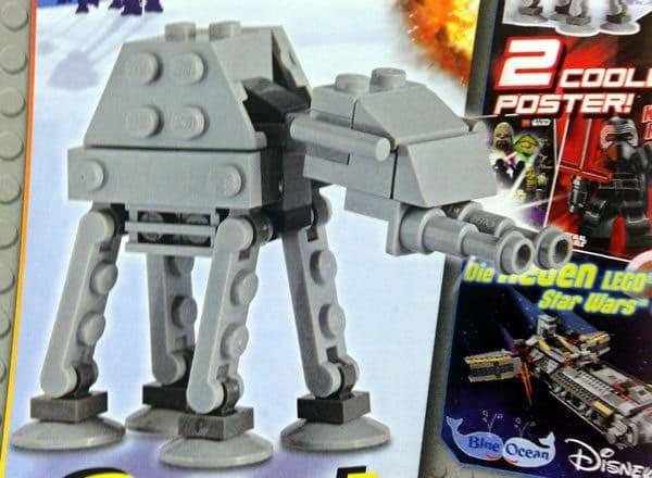 LEGO Star Wars Magazine N°15 (September 2016) : AT-AT