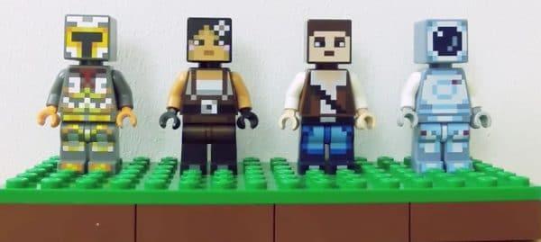 LEGO Minecraft 853610 Skin Pack (2016)