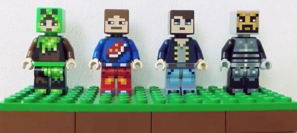 LEGO Minecraft 853609 Skin Pack (2016)