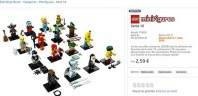 LEGO 71013 Collectible Minifigures Series 16 : 2.59 € le sachet dès le 1er septembre prochain