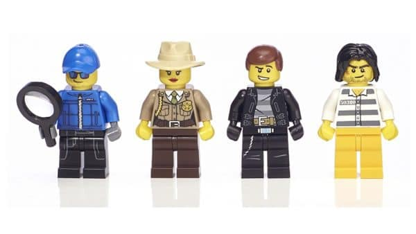 5004424 Cops & Robbers Minifigure Collection