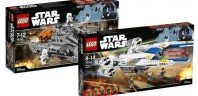 Sets LEGO Star Wars Rogue One : Deux boites