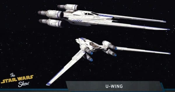 Rogue One : A Star Wars Story - U-Wing (Incom UT-60D)