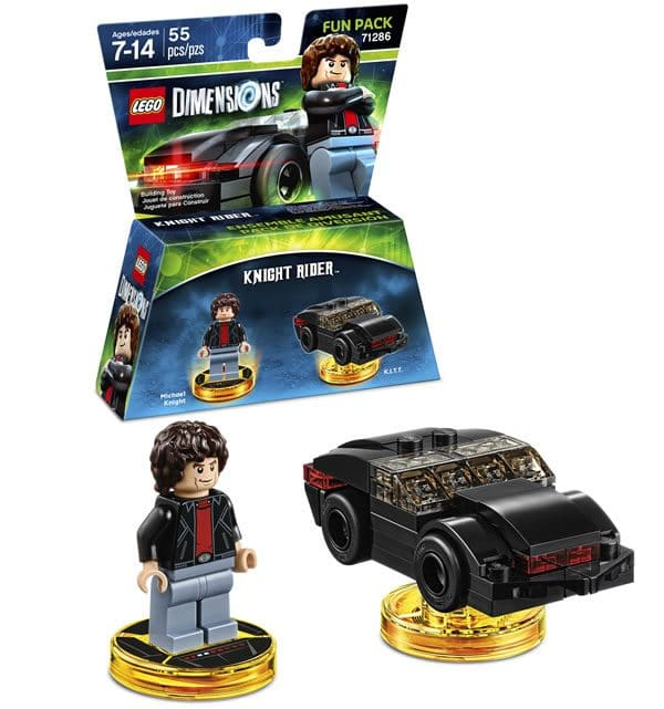 LEGO Dimensions : 71286 Knight Rider Fun Pack