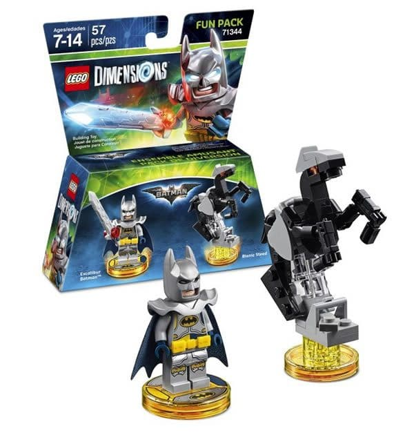 LEGO Dimensions : 71344 LEGO Batman Movie Excalibur Batman Fun Pack
