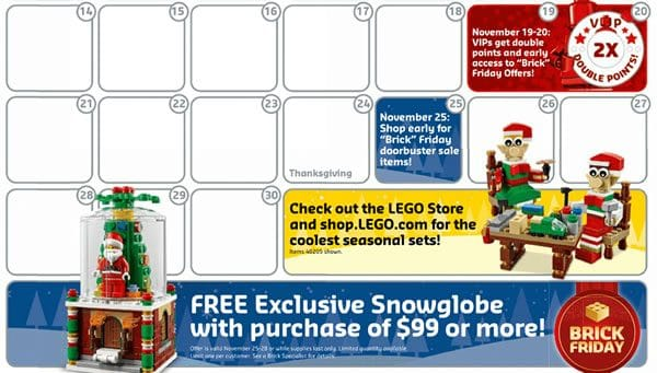 LEGO 40223 Snowglobe - Brick Friday