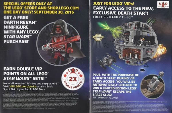 Force Friday : LEGO Star Wars offers (US/CA)