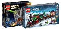 75159 Death Star & 10254 Winter Holiday Train disponibles !