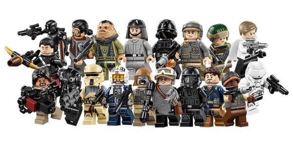 LEGO Star Wars Rogue One Minifigures
