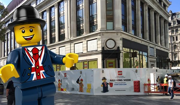 New LEGO Store - Leicester Square (London - UK)