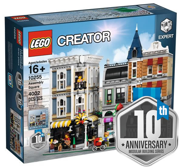 May The 4th Be With You Lego 2018: LEGO Creator Expert 10255 Assembly Square : L'annonce