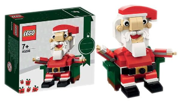 LEGO Seasonal Set : 40206 Santa Claus