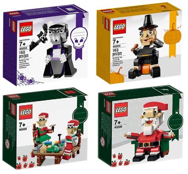LEGO Seasonal Sets 2016