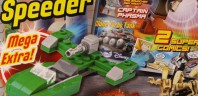 Magazine LEGO Star Wars : Un Flash Speeder avec le N°18