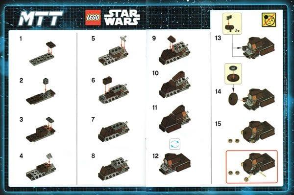 LEGO Star Wars Magazine N°16 : MTT