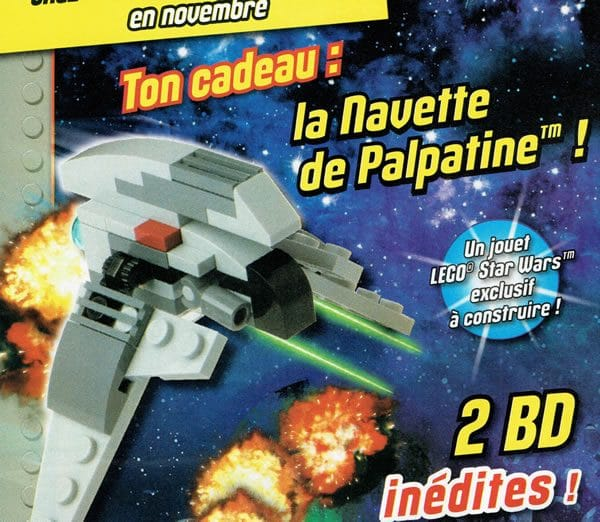 LEGO Star Wars Magazine N°17 : Palpatine's Shuttle