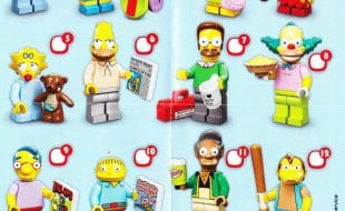 minifigures simpsons lego