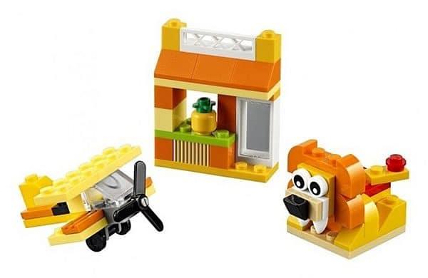 10709 LEGO Orange Creative Box