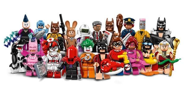 The LEGO Batman Movie : 20 personnages à collectionner