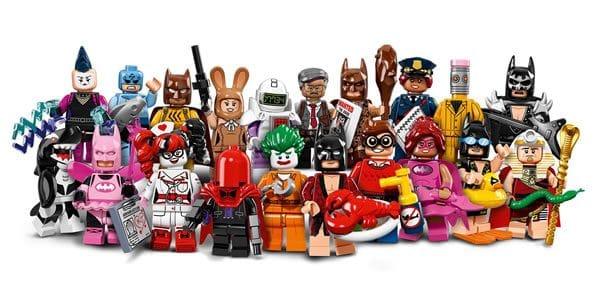 The LEGO Batman Movie : 20 personnages à collectionner