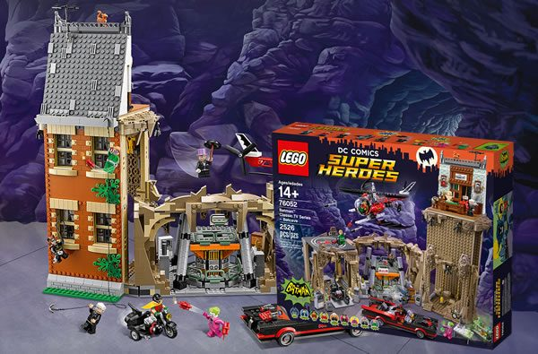 76052 Classic TV Series Batcave