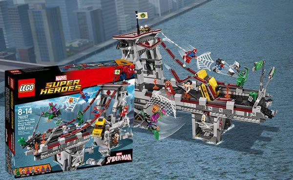 76057 Spider-Man : Web Warriors Ultimate Bridge Battle