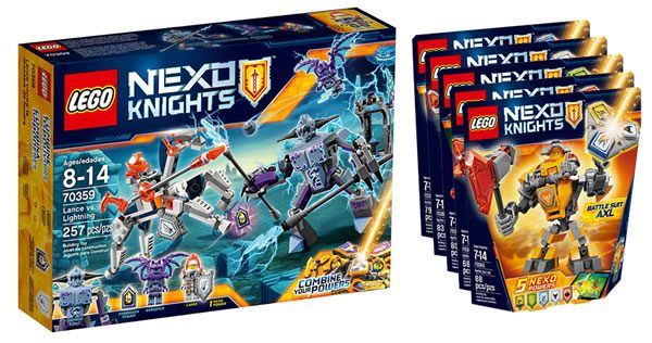 one more thing encore quelques visuels nexo knights 2017 hoth bricks. Black Bedroom Furniture Sets. Home Design Ideas