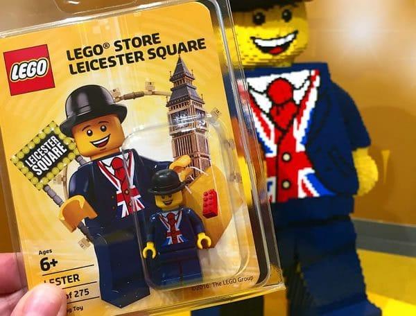 Minifig exclusive du LEGO Store de Leicester Square : tirage limité à 275 exemplaires...