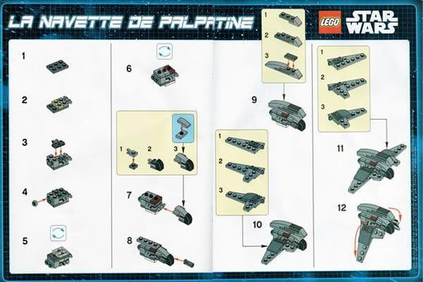 LEGO Star Wars Magazine Palpatine's Shuttle Instructions (Issue #17 - November 2016)