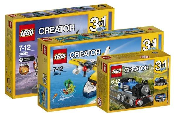 Nouveautés LEGO Creator et Classic pour 2017 : encore des images