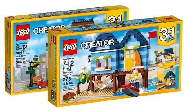 Nouveautés LEGO Creator 2017 : Il y a aussi quelques bâtiments...