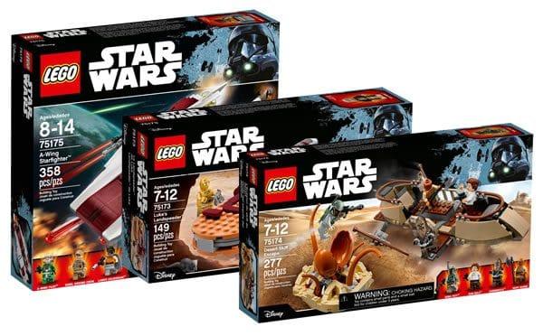 Nouveautés LEGO Star Wars 2017 : Encore des visuels officiels