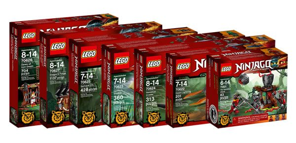 nouveauts lego ninjago 2017 les visuels officiels - Lego Ninjago Nouvelle Saison