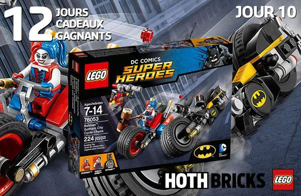 LEGO DC Comics Super Heroes 76053 Batman : Gotham City Cycle Chase